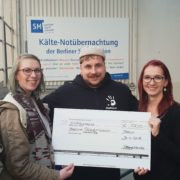 Donation to the Kältebus